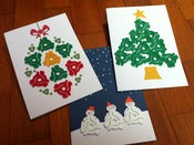 Image of 45rpm Adapter Christmas Card Specials! / Set of 3