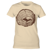 Tree Rings - Tan - Women's