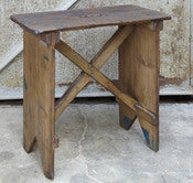 Image of large tabouret d'usine 03 / wide stool factory