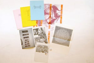 Image of  MUSEUMS IV (collaboration with MUSEUMS PRESS) - zines, cassette, badges, prints