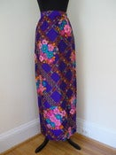 Image of 70s Alex Colman hostess maxi skirt