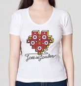 Image of  Heart Speaker T-Shirt - Ladies