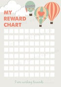 Image of PRINTABLE REWARD CHART POTTY TRAINING CHART PDF