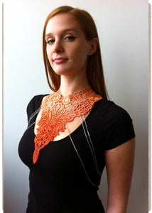 Image of Tangerine Lace Chain