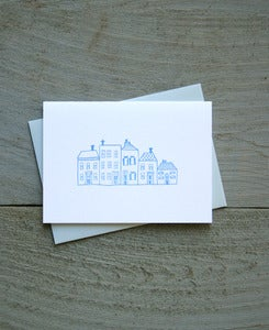 Image of Townhouses Everday Note Card