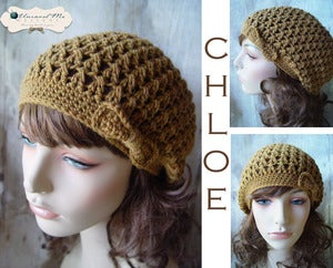 Image of PDF Crochet Pattern - Chloe Slouch Hat