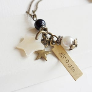 Image of Star Dreamer Charmed Necklace