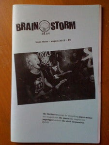 Image of Brain Storm Zine - Issue 3- RVIVR, The Magnificent, Joyce Manor, The Manix......
