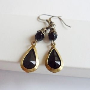 Image of Cabaret Earrings (Black