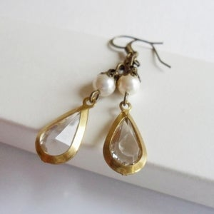 Image of Cabaret Earrings (Clear)