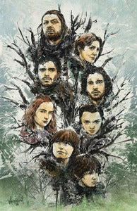 Image of Pack of Wolves AP(Artist's Proof) - Game of Thrones