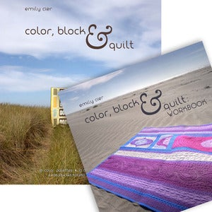 Image of Color, Block &amp; Quilt: Book and Workbook Bundle