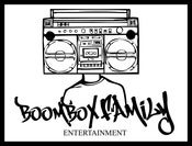 Image of Boombox Family Entertainment BORDERED 2 (Stickers) 5 for $2.00