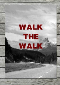 "Image of Original print: ""Walk the walk"""