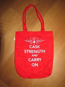 Image of The One And Only 'Caskstrength And Carry On' Bag