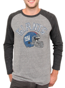 Image of NFL New York Giants Vintage Inspired Long Sleeve Raglan