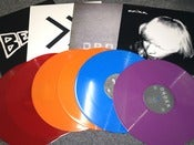 Image of MULTI COLOURED VINYL BUMPER PACKAGE beak> / beak>> / anika / drokk