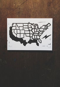 Image of United States Map