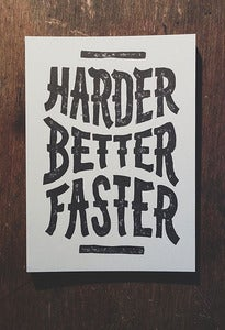 Image of Harder Better Faster