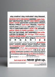 Image of x2 Inspirational A3 Posters *limited offer*