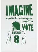 Image of Imagine (stencil print)