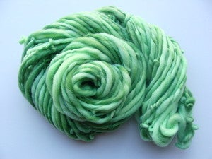 Image of Handspun Merino Yarn - Greens