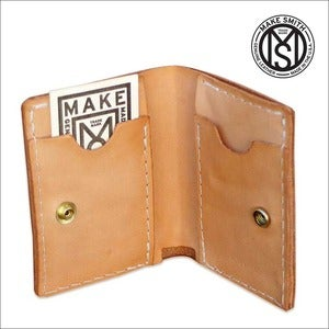 Image of Bill Fold Leather Wallet