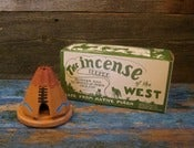 Image of TEE PEE INCENSE BURNER