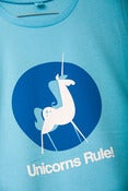Image of Unicorns Rule! T-shirt Mens