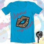 "Image of ""LIPSTICK & HIGH STANDARDS"" Women's T-Shirt"