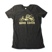 Image of  Bike Love screenprint t-shirt