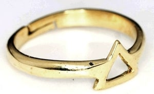 Image of Triangle - Brass