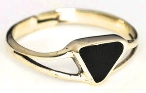 Image of TRIANGLE BLACK - Brass