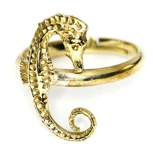 Image of SEA HORSE - Brass