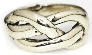 Image of FIGURE 8 KNOT - White Bronze