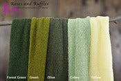 Image of Newborn Stretch Wraps - Greens and Yellows