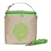 Image of So Young Mother Large Cooler Bag - Green Artichoke