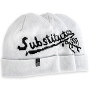 Image of Substitute (lambswool beanie hat)