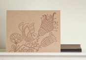 Image of Henna Bird Notecards