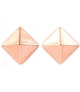 Image of Rose Pyramid Studs