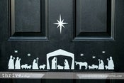Image of Door Vinyl - NATIVITY