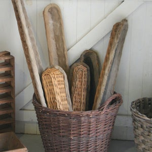 Image of Antique Baguette Baskets