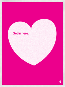 Image of Get In Here - Pink No.2 Print