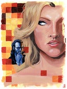 Image of The Cylon Agent: Original Art