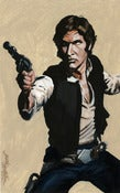 Image of Han Solo Painting