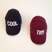 Image of COOL / TRY Dad Hat