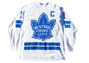 Image of Chronic Leaf's Jersey (White)