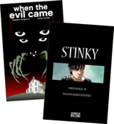 Image of 'When The Evil Came' / 'Stinky' DOUBLE FEATURE