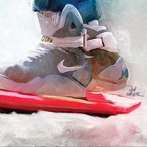 Image of 'Hoverboard' Back To the Future