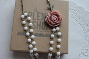 Image of Vintage Rose Bloom Necklace